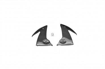 Carbon Untere Seitenverkleidung für Kawasaki ER-6F / ER-6N 2006-2008