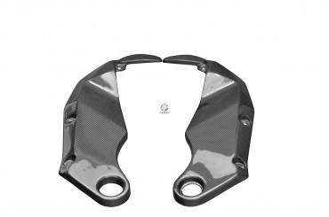 Carbon Untere Seitenverkleidung für Kawasaki Z750 / Z750S 2005-2006 / Z1000 2004-2006