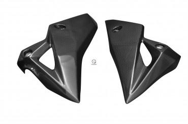 Carbon Untere Seitenverkleidung für Kawasaki Z800