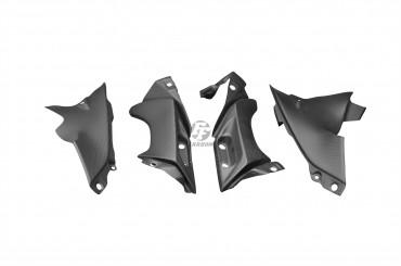 Carbon Untere Seitenverkleidung für Yamaha YZF-R1 2004-2006