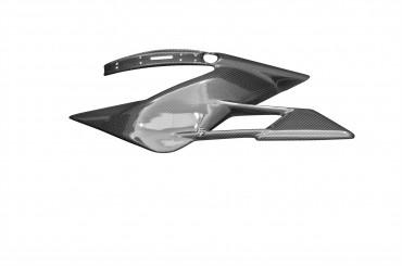 Carbon Kettenschutz Unten für MV Agusta F4 1000 2010-2013 Brutale 920 / 990 / 1090