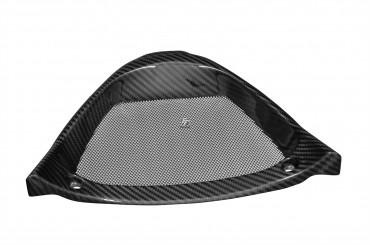 Carbon Dreiecksrahmen Ölkühlerabdeckung für Aprilia RSV4 100% Carbon Köper Glossy 100% Carbon | Köper | Glossy