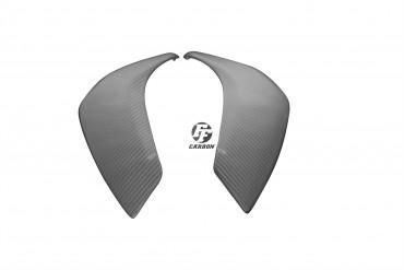 Carbon Seitenverkleidung unter Tank für Yamaha FZ8 Carbon+Fiberglas Köper Matt Carbon+Fiberglas | Köper | Matt