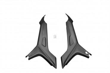 Carbon Seitenverkleidung Rahmenschutz für Ducati Hyperstrada / Hypermotard 821 2013-2015 / 939 2016-