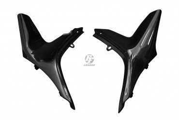 Carbon Seitenverkleidung unter Sitz für Ducati Scrambler