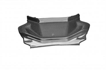 Carbon Steg zwischen Sitz und Soziussitz für Yamaha MT-07 Carbon+Fiberglas Leinwand Glossy Carbon+Fiberglas | Leinwand | Glossy