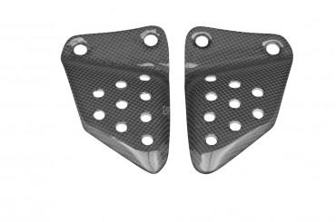 Carbon Vordere Fersenschützer für Buell XB9R / XB9S / XB12R / XB12S Carbon+Fiberglas Leinwand Glossy Carbon+Fiberglas | Leinwand | Glossy