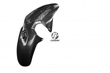 Carbon vorderes Schutzblech für Yamaha MT-07 2018- Carbon+Fiberglas Leinwand Glossy Carbon+Fiberglas | Leinwand | Glossy