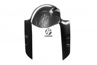 Carbon vorderes Schutzblech für Yamaha YZF-R1 2009-2018 / R6 2017- / MT-10 Carbon+Fiberglas Köper Glossy Carbon+Fiberglas | Köper | Glossy