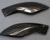 Carbon Windabweiser für Kawasaki Ninja H2
