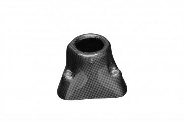 Carbon Zündschlossabdeckung für Ducati Hypermotard 796 / 1100