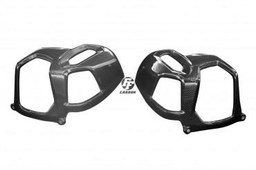 Carbon Zylinderabdeckung für BMW R Nine T 2016- Carbon+Fiberglas Leinwand Glossy Carbon+Fiberglas | Leinwand | Glossy