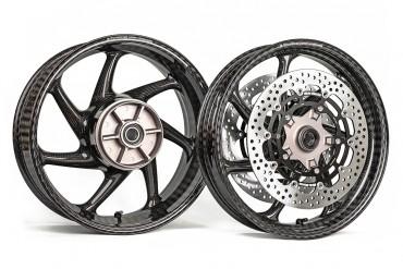 Thyssenkrupp Carbon Felgen Komplettsatz für Honda CBR 1000 RR 2017-2019 / CBR 1000 RR SP 2017-2019